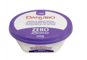 CREME DE QUEIJO FRECAL ZERO LACTOSE DANUBIO 200G