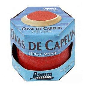 OVAS DE CAPELIN VERMELHO DAMM 100G