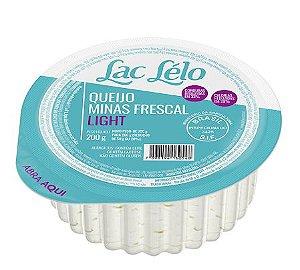 QUEIJO MINAS FRESCAL LIGHT LAC LELO 250G