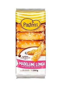 MADELEINE LONGA COM GOTAS DE AÇUCAR PADERRI 200G