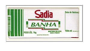 BANHA REFINADA RESFRIADA 1K SADIA