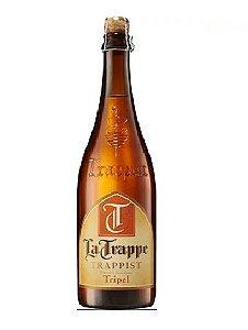 CERVEJA LA TRAPPE TRIPEL TRAPPIST 750ML