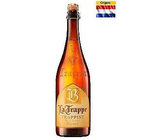 CERVEJA LA TRAPPE BLOND TRAPPISTENBIER 750ML