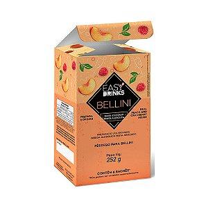 Preparado para Drink Bellini Easy Drinks com 6 unidades