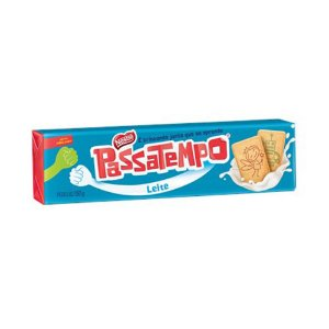 BISCOITO COM LEITE PASSATEMPO 150G