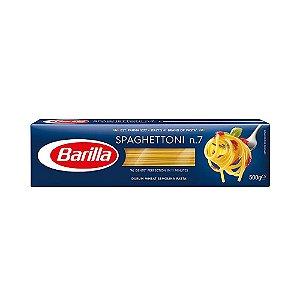 Massa Barilla  Spaghettoni N7 500g