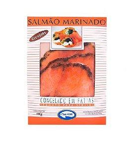SALMAO MARINADO EM FATIAS GRAVLAKS DAMM 100G