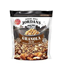 GRANOLA NUTS AMENDOA E AVELA  HOLME MILL JORDANS 400G