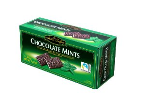 BARRINHAS DE CHOCOLATE COM MENTA MAITRE 200G