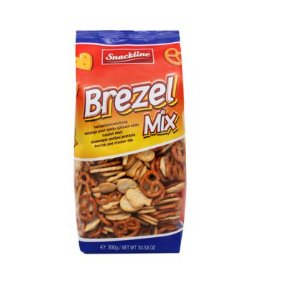 MINI PRETZEL MIX COM SAL SNACKLINE 300G