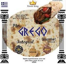 PAO GREGO TRADICIONAL FRESH KING 250G