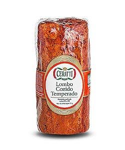 LOMBO COZIDO TEMPERADO CERATTI FATIADO 100 gramas