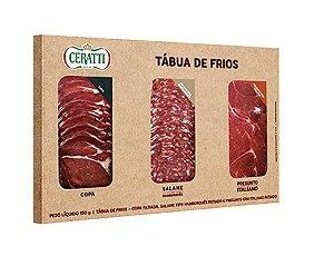 TABUA DE FRIOS CERATTI COPA SALAME E PRESUNTO CRU 150G