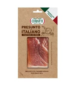PRESUNTO CRU ITALIANO FATIADO CERATTI 100G