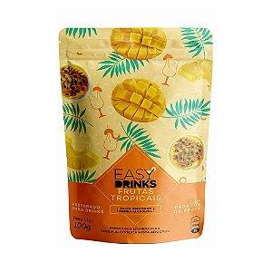 Preparado para Drinks sabor Frutas Tropicais Easy Drinks 100g