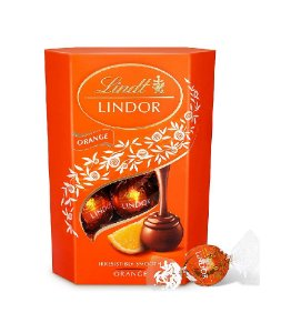 CHOCOLATE LINDT ORANGE LINDOR BALLS 200G