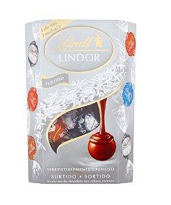CHOCOLATE LINDT ASSORTED SILVER ED LINDOR BALLS 200G