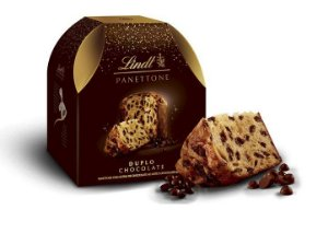 PANETONE DUPLO CHOCOLATE LINDT 400G