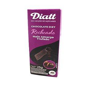 CHOCOLATE  DIATT RECHEADO MEIO AMARGO TRUFADO 25G