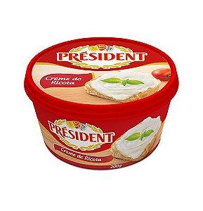Creme de Ricota President 200g