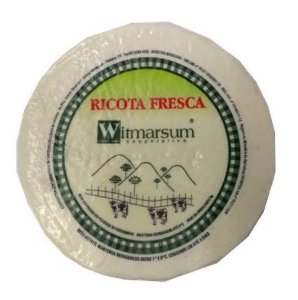 RICOTA FRESCA WITMARSUM PEÇA APROX 250G