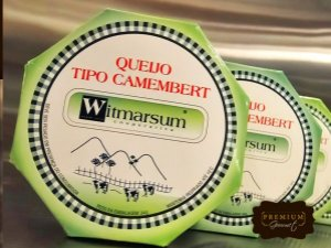 QUEIJO CAMEMBERT WITMARSUM PEÇA APROX 200G