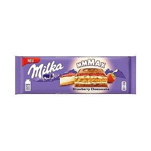 CHOCOLATE MILKA STRAWBERRY CHEESECAKE 300G