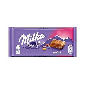 CHOCOLATE MILKA CONFETTI 100G
