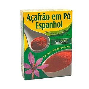 AÇAFRAO EM PO ESPANHOL SABATER