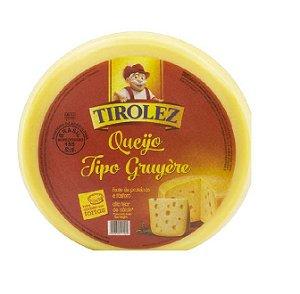 QUEIJO GRUYERE TIROLEZ PEDAÇO 200 gramas