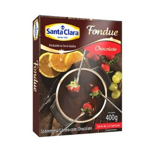 FONDUE DE CHOCOLATE SANTA CLARA 400G