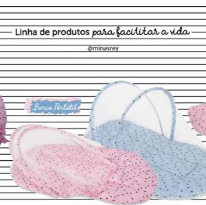 Berço Minicama Tigus Baby Maria Fernanda Branco
