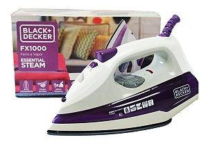 Ferro De Passar Black Decker A Vapor Fx1000 Essential 220v