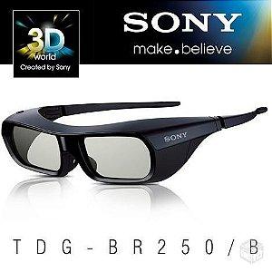 Óculos Sony 3d Tdg Br205/B Preto