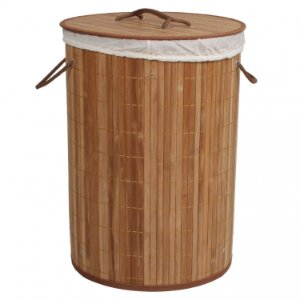 Cesta De Bambu Acasa Carbonizado