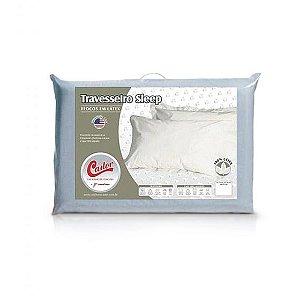 Travesseiro Castor Sleep Flocos 100% Algodão