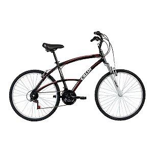 Bicicleta Caloi 100 Confort Aro 26 Masculina