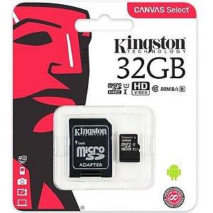 Cartao Memoria Kingston 32 Gb Micro Sd