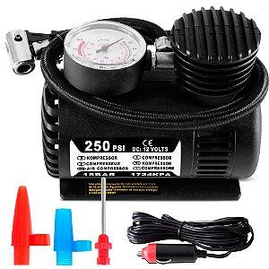 Compressora Multilaser Au601 12v 250psi