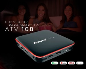 Conversor Digital Amvox Atv108 Smart