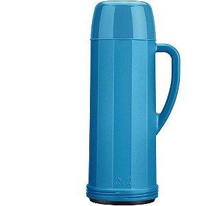 Garrafa Térmica Invicta 1 Litro 51811 Eureka Azul