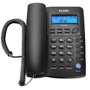 Telefone De Mesa Elfin Tcf3000 Com Identificação