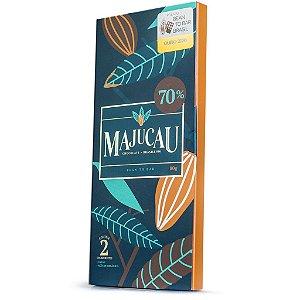 Chocolate 70% cacau Bean to bar Majucau   80g
