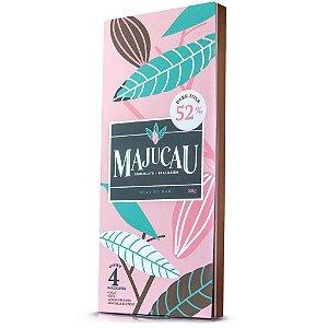 Chocolate ao Leite 52% cacau Bean to bar Majucau   80g