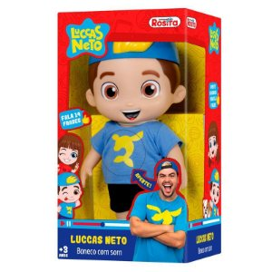 Boneco Luccas Neto 25cm - Novabrink