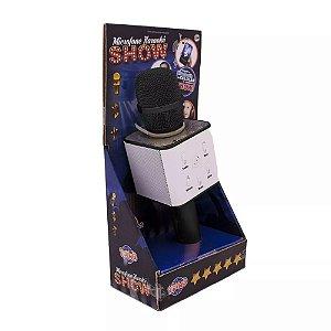 Brinquedo Microfone Karaokê Show Bluetooth Preto - Toyng