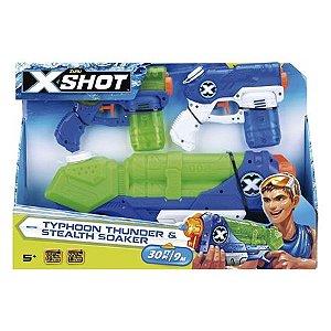 Lançador X-shot - X1 Tormenta X2 Maremoto - Candide