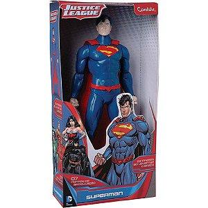 Boneco Superman Com Som - Candide