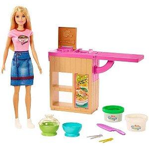 Barbie Playset Máquina de Macarrão - Mattel