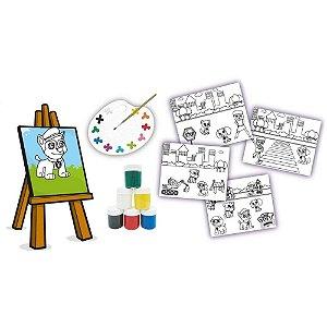 Kit para Colorir Esquadrão Pet - Brincadeira de Criança